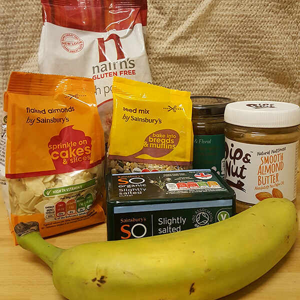 Healthy Cereal Bar Ingredients