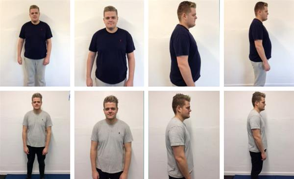 Ryan's Weigtloss Results